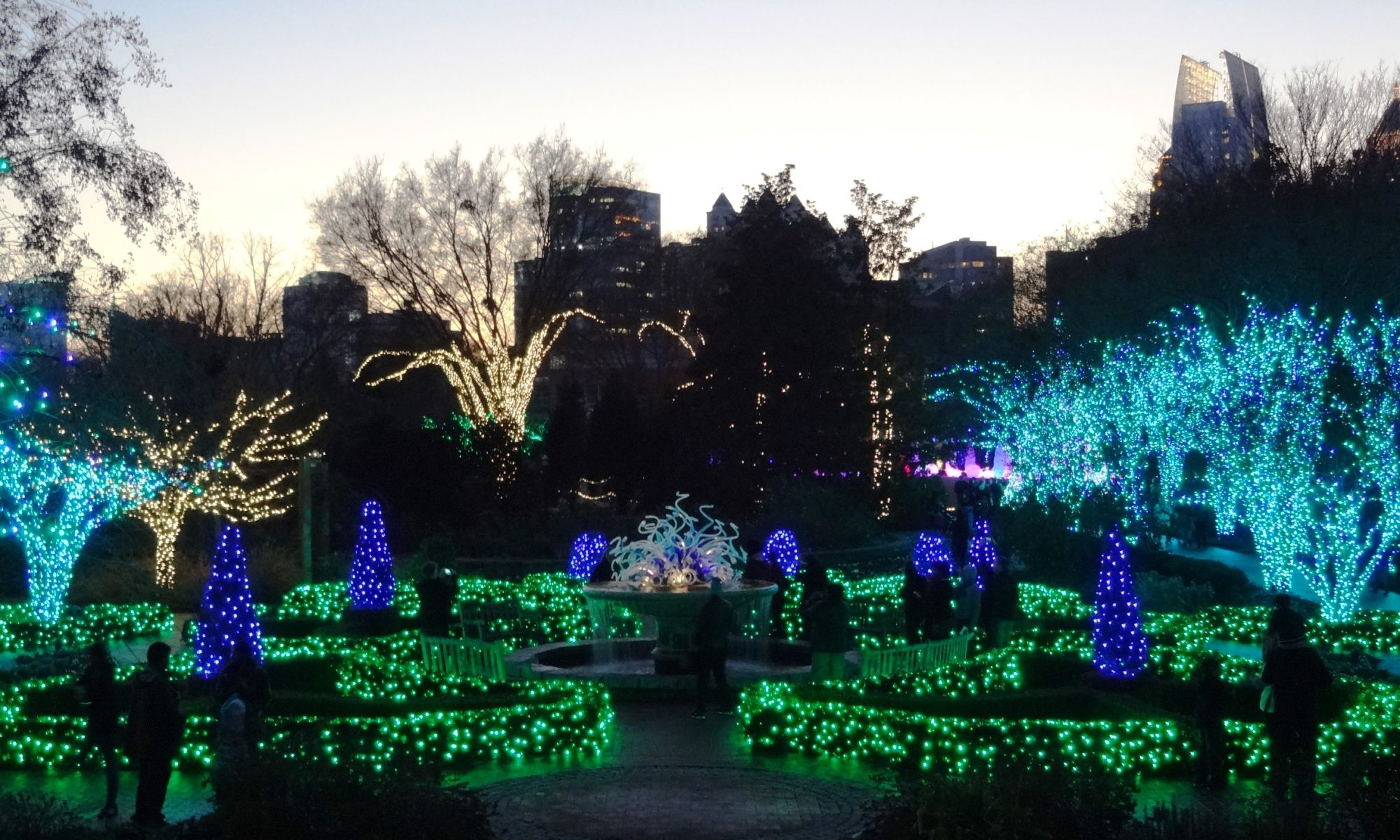 Garden Lights at Atlanta Botanical Garden - McAlister Home Group Blog