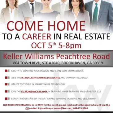 Keller Williams Peachtree Road Career Night